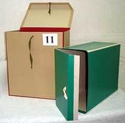 Переплетные работы + полиграфия - от производителя/ Архивные короба,  папки