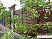 Заборы,  ограждения деревянные.