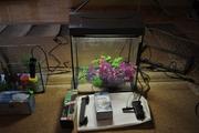 аквариум Тетра 30л серырого цвета