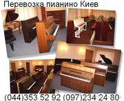 Перевозка пианино,  фортепиано,  рояля в Киеве