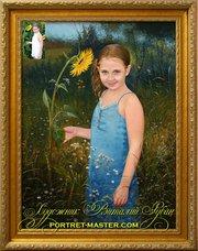 Заказать портрет в Киеве,  заказать портрет Киев,  заказ портрета маслом