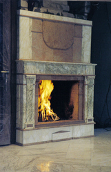 Камин из мрамора камин мраморный дизайн интерьера киев