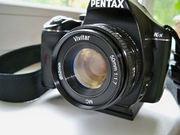 Светосильный объектив Pentax Vivitar 50mm f1:1.7