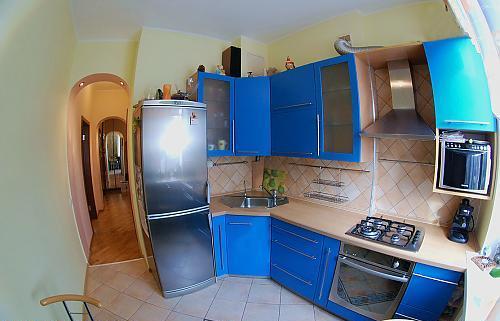 Дизайн кухни в сталинках фото