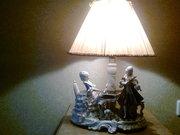 Продам лампу,  фарфор,  Германия 50-е года.