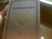 5 томов М.Ю. Лермонтова 1913 года
