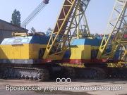 Аренда гусеничных кранов МКГ-25БР,  г/п 25 т,  г. Бровары.