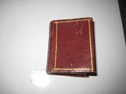 Уникальная антикварная миниатюрная книга 1810г
