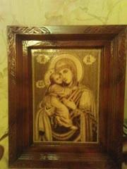 Иконы - Иисуса;  Божья Матерь