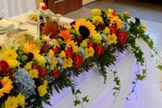 Свадьба в украинском стиле, организация свадьбы, прокат арки в украинско