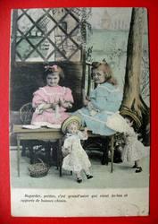 Продам открытки старинные 1900-е годы. милитари,  яхты,  дети,  тиснение
