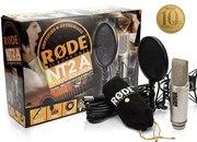 Студийный микрофон для записи голоса,  инструментов Rode NT2-A