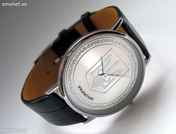 часы с гербом украины