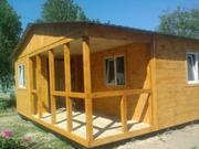 Бытвоки, вагончики строительные, дачные дома от производитеоя