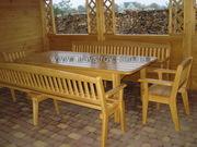 Cтолы,  стулья,  кресла,  скамейки