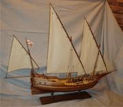 Продам модель парусного корабля (Pinca genoveza)