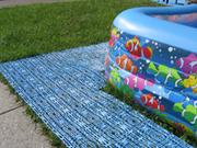 Антискользящее модульное покрытие для бассейнов