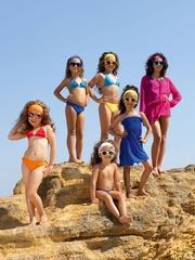 Качественная пляжная туника для детей