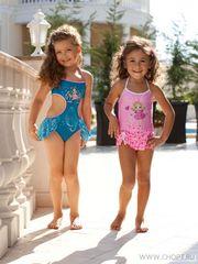 Детский цельный купальник для девочек