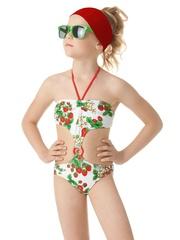 Детский купальник для девочек. Фото