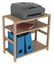 Полка для офиса (дома) под технику деревянная