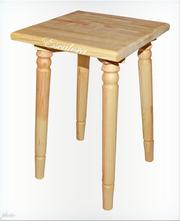 Табурет деревянный для дома