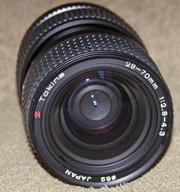 Tokina 28-70mm f/2.8-4.3 + Promaster  28-70mm 1:2.8-4.5 байонет Nikon