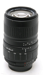 Sigma UC 100-300mm 1:4.5-6.7 Zoom Lens for Nikon Digital Cameras