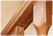 Планка подперильная деревянная для лестниц