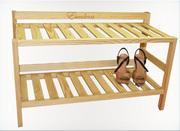 Полка для обуви деревянная