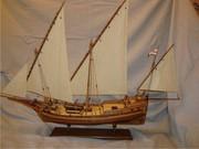 Продам стендовую модель парусника