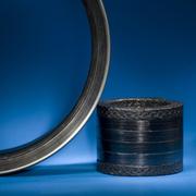 Уплотнения,  сальниковая набивка из терморасширенного графита ТРГ и синтетических волокон