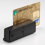 Mini 400 считыватель магнитных карт с памятью,  портативный ридер карт