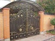 Кованые решетки Киев,  кованые козырьки Киев,  кованые заборы и ворота