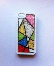 Чехол с бисером для iphone 5/5s