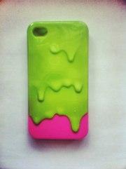 Чехол мороженое для iphone 4/4s - 90 грн