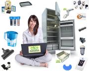 Купить в Киеве аксессуары и запасные части к бытовой технике Electrolu