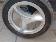 продам колеса на детскую коляску Geoby C 780,  запчасти на коляски
