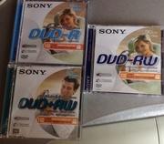 Sony dvd-r 2.8gb,  dvd-rw 1.4gb,  dvd+rw 2.8gb