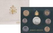 Набор монет Ватикан Выпуск 1996 года 1996