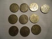 Монеты СССР более 3-х тыс. штук с 1924г. по 1991г.