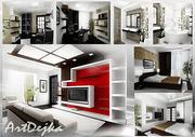 Дизайн интерьера квартиры ,  дома,  офиса,  кафе  Киeв