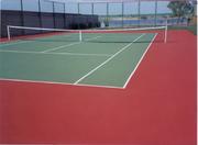 Теннисные корты,  строительство