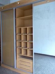 Изготовление гардеробных комнат по индивидуальным заказам