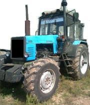 Продаем сельскохозяйственный колесный трактор МТЗ 1221,  1999 г.в.