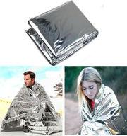 Спасательное тепловое одеяло,  майларовое тепловое одеяло
