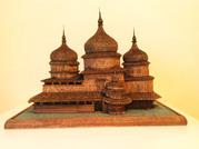 модель деревянной церкви Св. Юра-Дрогобыч