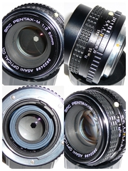 SMC Pentax-M 50mm 1:2