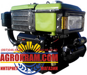 Одноцилиндровый  двигатель ДД180В на мотоблок,  трактор
