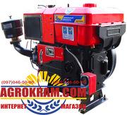 Одноцилиндровый  двигатель ДД1120ВЭ на китайский минитрактор